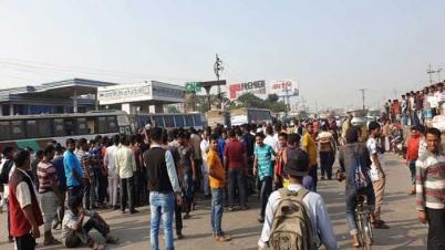 ঢাকা-সিলেট-চট্টগ্রাম মহাসড়কের যান চলাচল বন্ধ