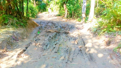 দোয়ারাবাজার উপজেলার সুরমা ইউনিয়নের ভুজনা সড়কের বেহালদশা