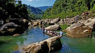 সাঙ্গু ও মাতামুহুরী নদীর ভাঙ্গন রোধে লামায় বাপাউবো পরিদর্শন