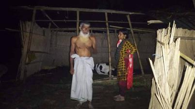 ফরিদপুরে  বজ্রপাতে কৃষকের ২ গরুর মৃত্যু