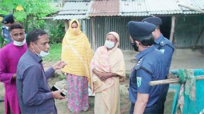 হাসিনা বেগমের স্বপ্ন পুরন করতে যাচ্ছে বাংলাদেশ পুলিশ