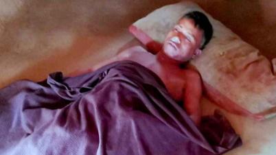 খাগড়াছড়িতে আকস্মিক বজ্রপাতে তিজেন ত্রিপুরা নামে এক যুবকের মৃত্যু
