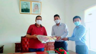চট্টগ্রাম উন্নয়ন বোর্ড চেয়ারম্যানের সাথে টিএসএসফ'র সৌজন্য সাক্ষাৎ