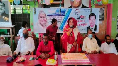 মনপুরায় আ'লীগের উদ্যোগে প্রধানমন্ত্রী শেখ হাসিনার ৭৫তম জন্মদিন পালিত