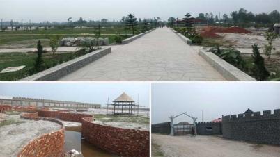 সুন্দরগঞ্জের বালুচরে আলী বাবা থিম পার্ক