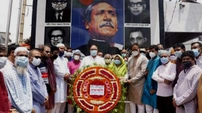 রাজশাহীতে আ'লীগের ৭১তম প্রতিষ্ঠা বার্ষিকী পালিত