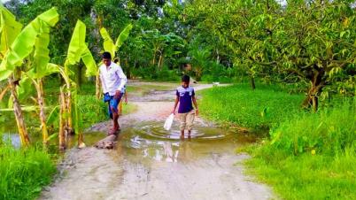 কর্তৃপক্ষের সদিচ্ছার অভাবে উন্নয়ন বঞ্চিত চারঘাটের গ্রামগুলো