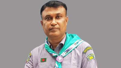 স্কাউটস`র দিনাজপুর আঞ্চলিক উপ-কমিশনার হলেন অধ্যক্ষ শাবাহাত আলী সাব্বু