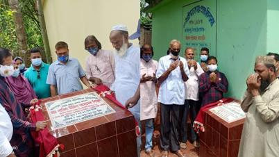 চাঁপাইনবাবগঞ্জে ৩টি বিদ্যালয় ভবন নির্মাণ কাজের ভিত্তিপ্রস্তর উদ্বোধন