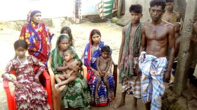 সুনামগঞ্জে অসহায় প্রতিবন্ধীদের গ্রাম পাতারগাঁও