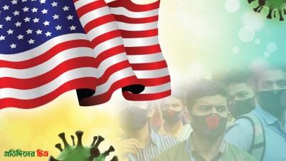 যুক্তরাষ্ট্রে ২৪ ঘণ্টায় ৬৬ হাজারের বেশি মানুষ করোনায় আক্রান্ত