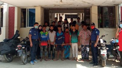 ব্রাহ্মণবাড়িয়ায় তাণ্ডব : আরেকটি মামলা দায়েরসহ ২৯৮ জন গ্রেপ্তার