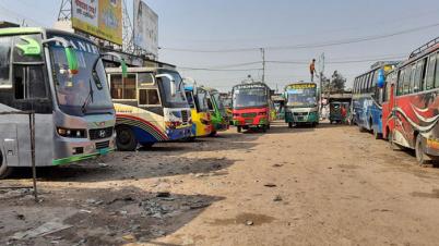 রাজশাহীতে বিএনপির সমাবেশ আজ, সব রুটের বাস বন্ধ