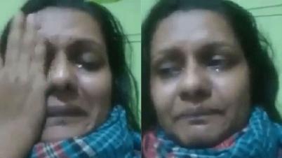 'করোনা আক্রান্ত' এক নারীর ভিডিও ভাইরাল