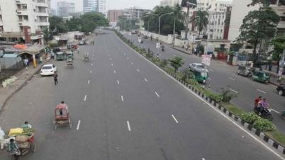 যাদুর শহর ঢাকা, সড়ক ফাঁকা