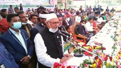 আলহাজ্ব ফরিদুল হক খান দুলাল এমপিকে সংবর্ধনা