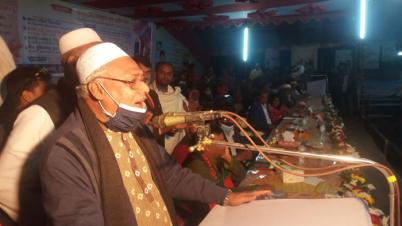 ধর্ম প্রতিমন্ত্রী আলহাজ্ব ফরিদুল হক খান দুলাল এমপিকে গণসংবর্ধনা
