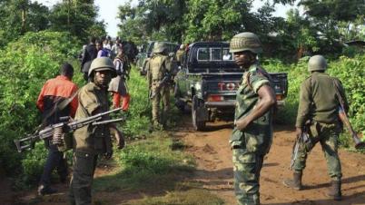কঙ্গোয় সেনাবাহিনীর হামলায় ৮ জন নিহত