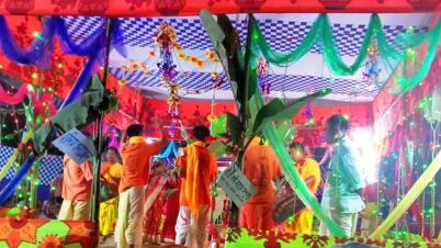ভাইবোনছড়া ইউনিয়ন পূর্ণ কার্বারী পাড়ায় অষ্টপ্রহরব্যাপী মহানামযজ্ঞ