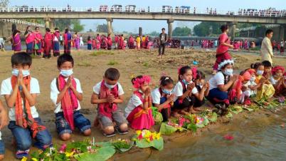 খাগড়াছড়িতে বৈসু, সাংগ্রাই ও বিঝু উৎসব শুরু: মানছে না স্বাস্থ্য বিধি