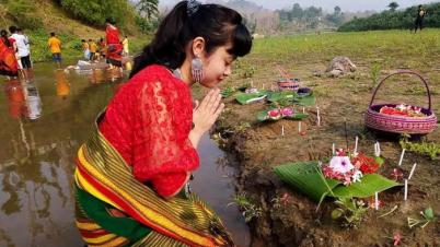 ত্রিপুরাদের প্রধান সামাজিক উৎসব বৈসু উৎসবের আজ হারি বৈসু: