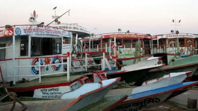 কাঁঠালবাড়ী-শিমুলিয়া রুটে লঞ্চ চলাচল বন্ধ