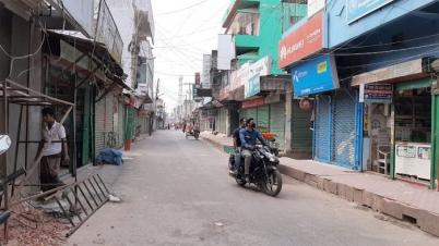 করোনা ঠেকাতে কঠোর প্রশাসন, পুরো জেলা নজরদারিতে