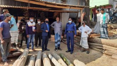 মির্জাপুরে ৪ ব্যবসায়ীকে ৪০ হাজার টাকা জরিমানা