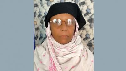 যুদ্ধাহত মুক্তিযোদ্ধা ইসরাইল খানের মরনোত্তর স্বীকৃতি চান স্ত্রী সাজিদা খান