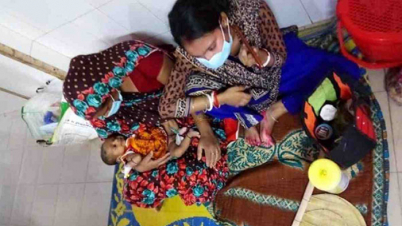 দেড় মাস বয়সী শিশুর শরীরে করোনা ভাইরাস শনাক্ত