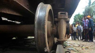 গাজীপুরে ট্রেনের বগি লাইনচ্যুত, রেল যোগাযোগ বন্ধ