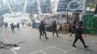 চসিক নির্বাচন: চট্টগ্রাম নগরীর লালখানবাজারে সংঘর্ষে আহত ২১